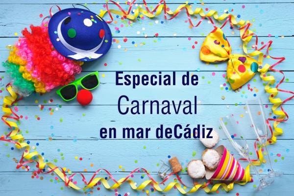 Especial Carnaval en mar deCádiz Zaragoza