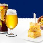 Oferta especial: bebida más aperitivo por 0,30€ más