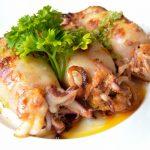 Calamar Relleno a la Andaluza, nuevo Plato del Chef